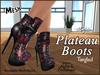 Plateau boots ad tangled