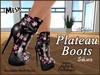 Plateau boots ad sakura