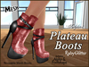 Plateau boots ad rubyglitter