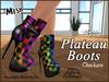 Plateau boots ad checkersjpg