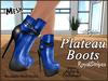 Plateau boots ad royalstripes