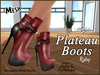 Plateau boots ad ruby