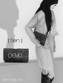 [ tien ] Jill's Leather Clutch DEMO
