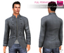 Full Perm Rigged Mesh Men's Stand Collar Jacket