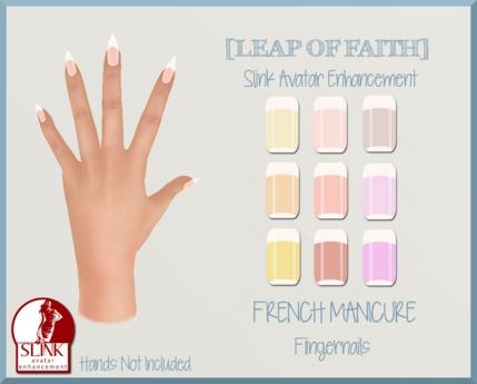 [LEAP of FAITH] French Manicure Slink Fingernails Applier