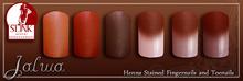 Jalwa -  Slink Appliers (Henna Stained Finger&Toenails