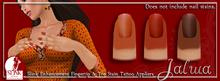 Jalwa -  Henna Fingertip/Toe Stain Tattoo Slink Appliers