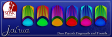 Jalwa -  Deco Peacock Finger&Toenails