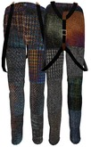 ALB MAURO trousers pants with suspenders wearable DEMO MESH - ALB DREAM FASHION by AnaLee Balut