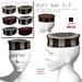 Kufi hat V.3, mesh, 6 colors boxed