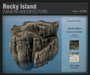 :Fanatik Architecture: Rocky Island - mesh sim building / landscaping kit