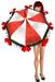 Boudoir -Christmas Parasol