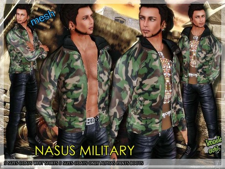 ..::knockout..::NASUS BLACK  MEN MESH