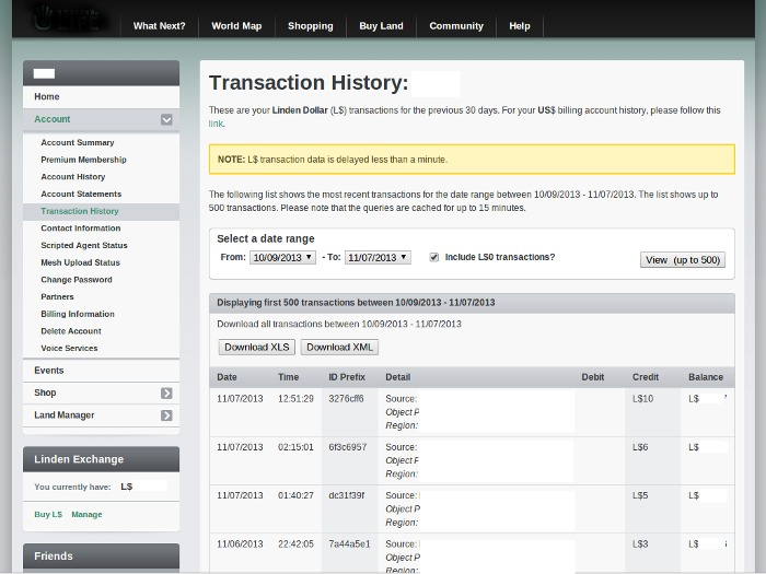 Transaction Tracker and Database (version 1.0)