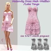 Maternity Dress Mesh Malika / Lolas Tango (3/6/9 montn) Pink