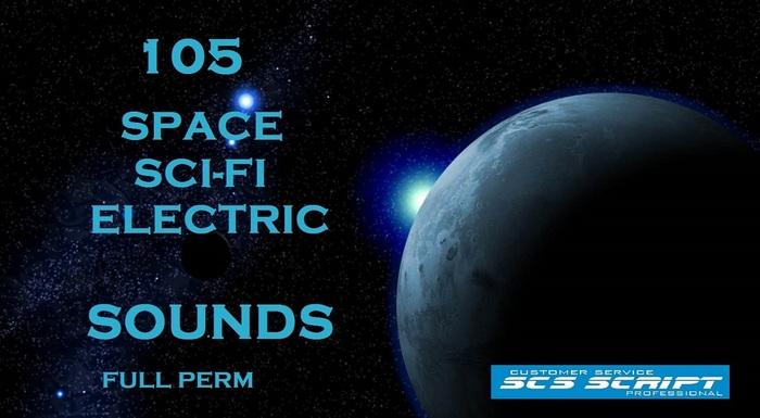SCS SCRIPT - 105 SPACE - SCI FI - ELECTRIC SOUNDS - FULL PERM