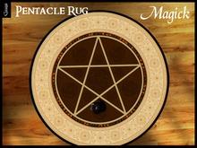 Gaagii Pentacle Rug - Magick