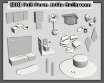 {XO} Full Perm Jetta Bathroom Set (box)
