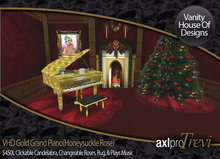 VHD Gold Grand Piano