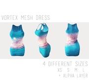 - Vortex Mesh Dress -