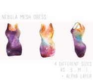 - Nebula Mesh Dress -