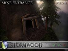 Stormwood: Mesh Mine Entrance - Rock
