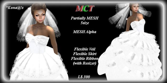 *Kona@!s White long dress