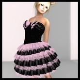 *Kona@!s pink&black dress