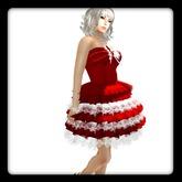 *Kona@!s Red&White dress