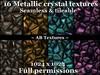 16 metallic crystal texture 1024x1024 Seamless tiling Full perm