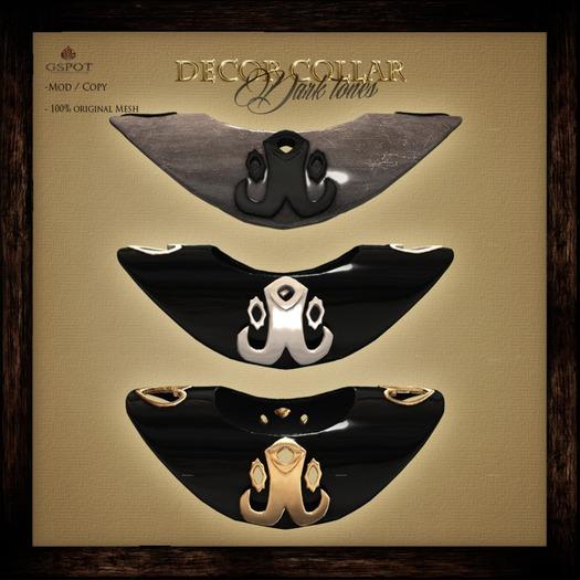 .:GSpot:. Decor Collar - dark tones