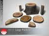 [DD] - FULL PERM Tree Stump & Slices