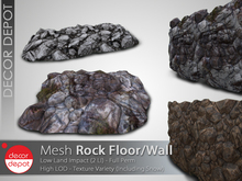 [DD] - FULL PERM  Rock Floor/Wall