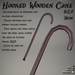 Hooked Wooden Cane