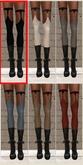 Garter Top Stockings BLACK