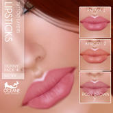 Outlet Oceane - Lipsticks Nicky Skinny Pack 4 [System 3 layers]