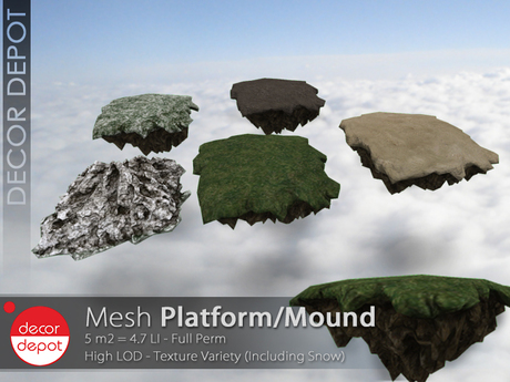 [DD] - FULL PERM  Platform/Mound