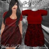 Get It Lil Red Dress