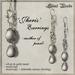 Silent Woods, 'Jheris' Earrings -mother of pearl-