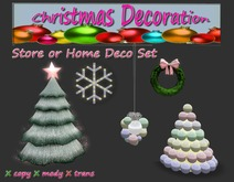 KiO Christmas Deco Set  pastell- SALE