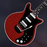 Red Special Electric Guitar.   Inspired by Brian May of Queen