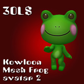 kowloon frog mesh avatar 2