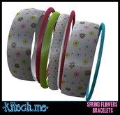 kitsch me - Spring Flowers Bracelet $1L dollarbie