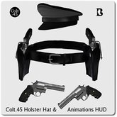 Streetfight Fashions Colt.45's Holster Hat & Animations HUD