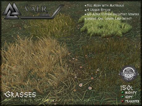 [VALR] Grasses