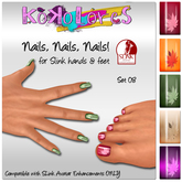 [Kokolores] Nails, Nails, Nails! Set 02 - rezz me!