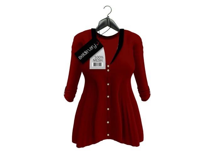 [BB] Beldezery - Soft Blouse Red