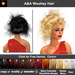 A&A Woohey Hair 11 Colors Variety Pack. Womens wild updo with flexi curls