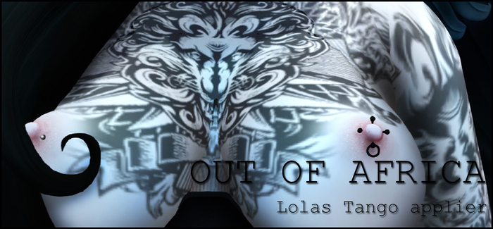 [White~Widow] Out Of Africa Lolas applier