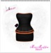 -Miss.Muffin- Take me Out Dress *Black and Orange*
